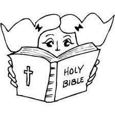 Image Result For Coloring Picture On Reading The Bible Bible