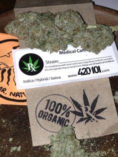 All Organic Medical Marijuana 'Thai Kush' WXCLUSIVE from Mr Natural Inc