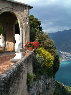 Ravello, Amalfi Coast - Ravello, Italy, province of Salerno Campania Beautiful Places In The World, Beautiful Places To Visit, Wonderful Places, Ravello Italy, Amalfi Coast Italy, Capri Italy, Sorrento, Positano, Dream Vacations
