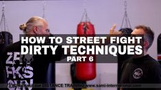 Dirty Fighting - How to Street Fight Dirty Techniques number 06 (eye slap)