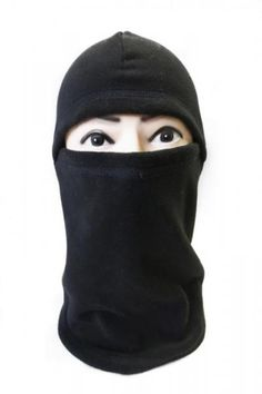 How to make a balaclava free sewing pattern.  This might be good for running in the winter!