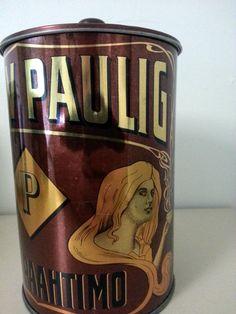 Kahvipurkki: Paulig 100 vuotta
