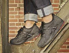 Asics Gel-Lyte V Okayama Denim Pack Okayama, Asics Tiger, All Black Sneakers, Sneakers Nike, Asics Gel Lyte, Japanese Denim, Trends, Nike Huarache, Shop Now