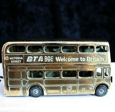 Vintage Collectible Brass Bus Listing in the Brass,Metalware,Collectables Category on eBid United Kingdom