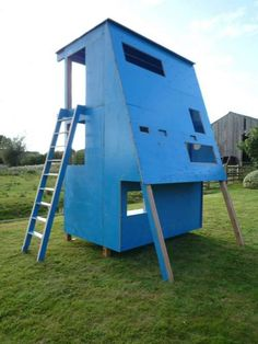 Upcycled Plywood Creativity - The 2012 Summer Olympics in London are bound to be spectacular. Specifically for the event the committee has built a massive blue fence to encircle...