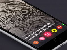 "via Muzli. ""Inspiring swipe gestures"" is published by Muzli in Muzli - Design Inspiration. Mobile App Ui, Mobile App Design, Best Ui Design, Web Design, App Iphone, Motion App, Tablet Ui, Ios, Ui Design Inspiration"