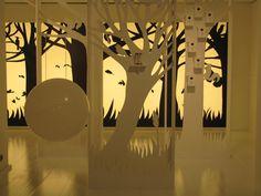 WHITE FOREST - set design