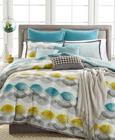 Kelly Ripa Home Longsdale 10-Pc King Comforter Set, Only at Macy's