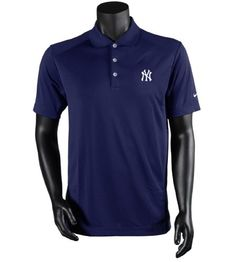 Men's Nike New York Yankees Dri-Fit Victory Polo. Variations: (Navy) Color, (XX Large) Size. Gender: Mens. Type: Golf Shirt. Size: XX-Large. Size: XX-Large.