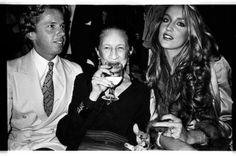 At Studio 54 with Jerry Hall