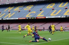 Barcelona Wins in an Empty Stadium Amid Catalan Voting Strife
