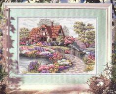 Schema punto croce Charming Cottage 01