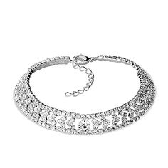 Charmed Craft Clear Crystal Rhinestone Shiny Sexy Style Anklet Barefoot Beach Girl http://ift.tt/2k3ZY8K