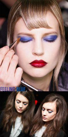 feeling blue, hair romance, feel blue