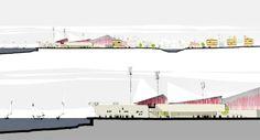 Project for the new town centre of Klaksvik, Faroe Islands