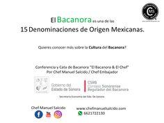 El #Bacanora es una de las 15 Denominaciones de Origen Mexicanas, quieres conocer más sobre la #Cultura del Bacanora? www.chefmanuelsalcido.com!!! buena vibra!!! #chefcms #denominacióndeorigen #México #impi #conferencia #cata  chef manuel salcido 6621722130
