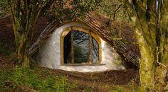 la casa-Hobbit della famiglia Dale