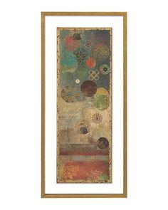 John Richard 44X20 Mosaic Circles I