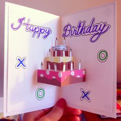 Husband birthday card diy found on tanyaanuragspot 2 different types of handmade greeting cards for birthday 2 m4hsunfo