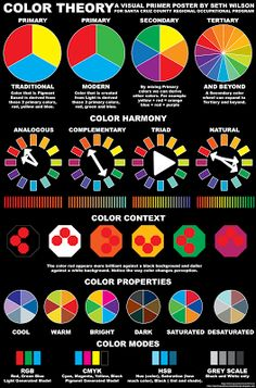 75 Best Color Theory Tests Worksheets Images Color Theory Art