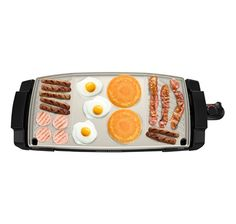 Dual Surface Griddle + Grill | George Foreman-largest area-240sqft-no waffle plate-$59