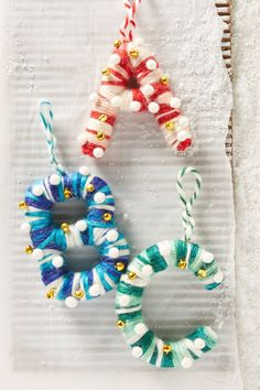 Jingling Monogram Ornament | Pinned by topista.com