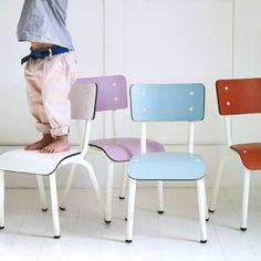 Rowen and Wren / chaise enfants en formica / Les gambettes