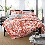 My someday bedding.  w/ green accents.  from company store.