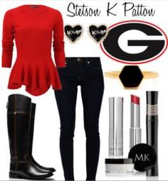 Georgia game day outfit and more looks on this site!
