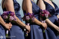 Navy Blue and Lavender Wedding | don't want to do too much purple though, so I think it will be ...