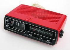 Sanyo Radio Alarm Clock