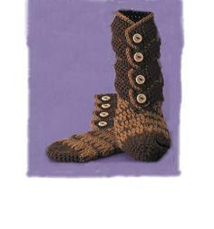 Crochet Boot Slipper Pattern | Hawaii Dermatology
