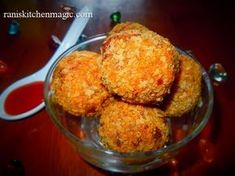 A great vegetarian tea time snack....Crispy Soya Chunk Masala Balls...try this awesome veg recipe and enjoy ! Happy Cooking :-) Rani Vijoo