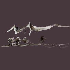 El grupo - Diseño de Ricardo Montoro Burning Love, True Love, First Love, Celestial, Skiers, Outdoor, Art, Winter Time, Group
