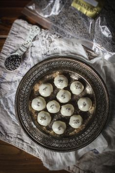 Lavender White Chocolate Almond Truffles
