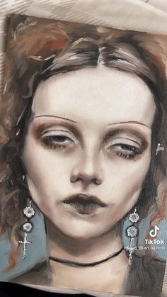 Art Sketches, Concept Art, Halloween Face Makeup, Moon, Paintings, Drawings, Artwork, Arts Plastiques, R Color Palette