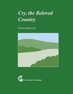 TeacherLingo.com $14.95 - 12 Lesson Plans / 21 Handouts / 70 Pages    Cry, the Beloved Country is certainly a social-problem novel with a focus on apartheid in South Africa. From a historical viewpoint, it is a valuable document, revealing destructive aftereffects of colonialism.