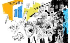 Daniel Egnéus' drawings of an everyday walk in Athens - The Greek Foundation