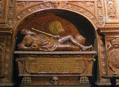 Nagrobek Zygmunta Augusta, Santi Gucci, 1574-75 (Kaplica Zygmuntowska)