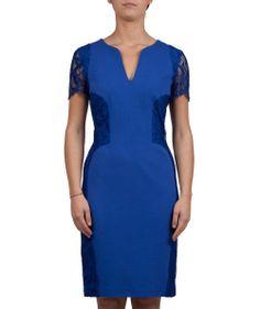 Groppetti Luxury Store - Abito Corto inserti in Pizzo - Emilio Pucci Spring Summer Collection 2014 #emiliopucci #woman #fashion