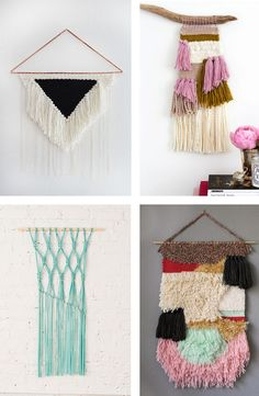 Craft trend: DIY Woven Wall Hangings