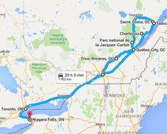 Roadtrip nach Kanada, du Québec à l& Reise und Bezahlung, Quebec Montreal, Quebec City, Ontario, Toronto, Vancouver Island, Saguenay Quebec, Voyage Canada, Charlevoix, Cities
