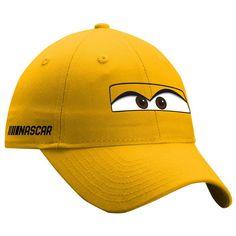 New Era Youth Cars 3 NASCAR Cruz Ramirez Adjustable Hat - Yellow
