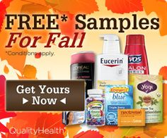 Free Samples for Fall! Sign Up Now http://thriftydivas.com/free-samples-for-fall-sign-up-now/