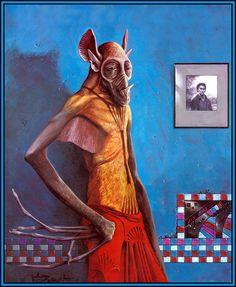 Fantasy - Surrealism - Other Art Character Concept, Character Design, Concept Art, Wayne Barlowe, Les Aliens, Alien Life Forms, Alien Planet, Hobgoblin, Science Fiction Art