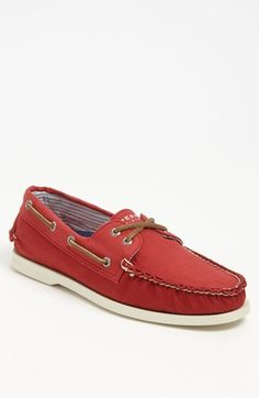 Sperry Top-Sider® 'Authentic Original' Canvas Boat Shoe (Men)   Nordstrom