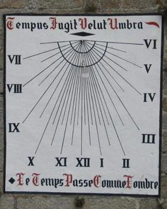 Cadran solaire de CONCARNEAU