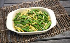 Asparagus, Green Bean and Wax Bean Salad
