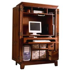 riverside furniture american crossings computer armoire in fawn cherry finish available at our showroom today