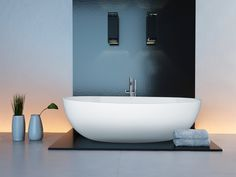 Our Interno Stone Bath is by far our best seller as it is extremely versatile and is the perfect luxury freestanding bath for any bathroom. Stone Bath, Bathroom Design Luxury, Traditional Bathroom, Innovation Design, Bathtub, Contemporary, Livingstone, Freestanding Bath, Home